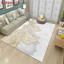 Fashion 3D Area Rugs Living Room Geometric Pattern Carpet Nordic Simple Coffee Table Room Bedroom Floor Rug Mat tapete cozinha valentine s day sparkly heart pattern floor area rug