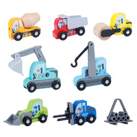 Surwish 1set Construction Vehicle Model Tool Car Excavator Puzzle Model Building Kits Toy For Children Kids Christmas Gifts 2019