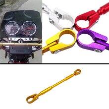 1 pcs Motorbike Motorcycle Handlebar Cross Bar Steering Wheel Strength Lever 7/8 22mm Adjustable For Honda Kawasaki