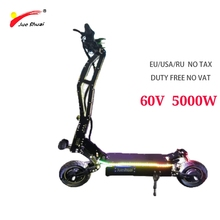 js 60V 5000W Scooter eléctrico Patinete sin escobillas
