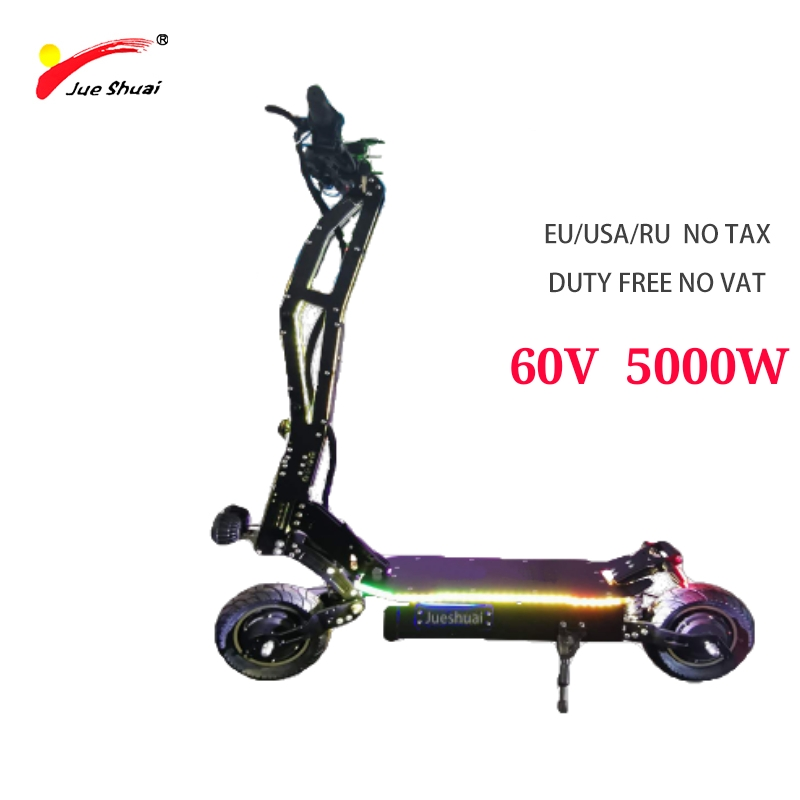 js 60V <font><b>5000W</b></font> <font><b>Electric</b></font> Scooter Patinete Brushless CE Skateboard Two Wheel <font><b>Electric</b></font> Scooter Lithium Battery <font><b>Electric</b></font> <font><b>Bicycle</b></font> ebike image