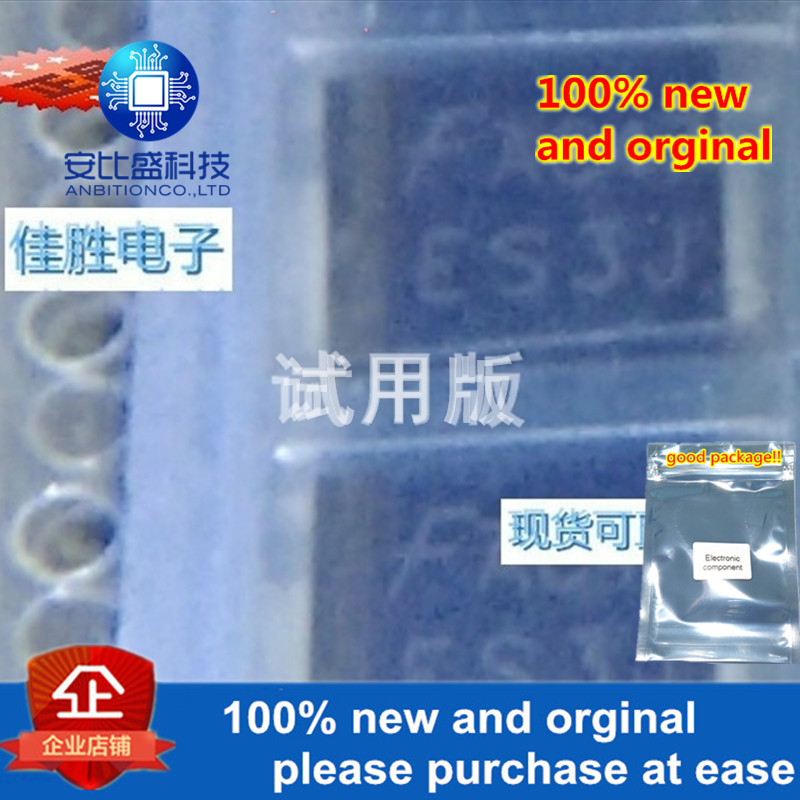 10pcs 100% New And Orginal ES3J 3A600V DO214AB Silk-screen ES3J In Stock
