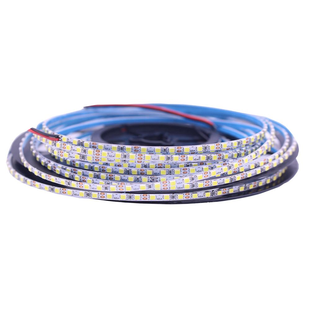 3mm PCB Hight Bright 5M 2520 SMD 168leds/m 840Leds/5M  Neutral  White White  Warm White Flexible LED Strip 12V Non-Waterproof