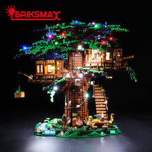 Led-Light-Up-Kit Tree-House-Toys Briksmax 21318 Building-Blocks Ideas-Series Compatible