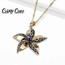 Cring coco 2020 гавайское ожерелье для женщин Цветочная цепочка