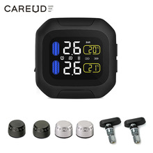 Motorcycle TPMS Tire-Pressure-Monitoring-System Internal External-Th/wi-Sensors Wireless