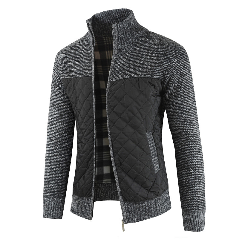 Mountainskin Men's Sweaters Autumn Winter Warm Knitted Sweater Jackets Cardigan Coats Male Clothing Casual Knitwear SA833 3