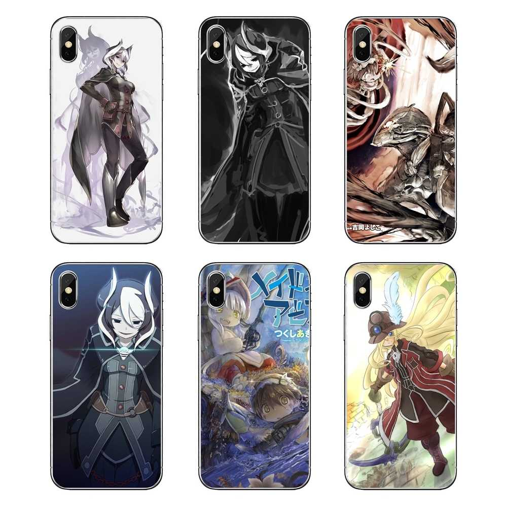 Made In Abyss Anime Desktop Wallpaper Soft Transparent Skin Case For Ipod Touch Iphone 4 4s 5 5s 5c Se 6 6s 7 8 X Xr Xs Plus Max Half Wrapped Cases Aliexpress