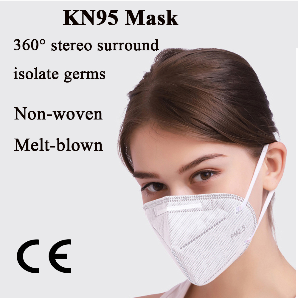 Mask CE Disposable Masks Mouth Face Mask KN95 95% Filtration Cotton Mouth Masks Anti-Dust 3 Filter Against Droplet Non-Medical