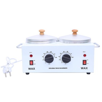 Beauty double mouth wax machine hair removal whitening exfoliating double furnace wax machine fast melting wax pot heater