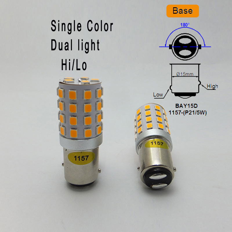 Image 5 - AMYWNTER 12V 1157 BAY15D P21/5W 1156 BA15S P21W Canbus LED PY21W 1056 BAU15S Turn Signal Running Light Bulb Red/Yellow/Whiterunning lightssource 12vled signal -
