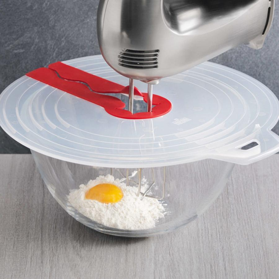 Cooking Tools Anti-splashing Egg Bowl Whisks Screen Cover Anti Spill Lid Cover Screen Guard for Egg Bowl Whisk Kitchen Tool