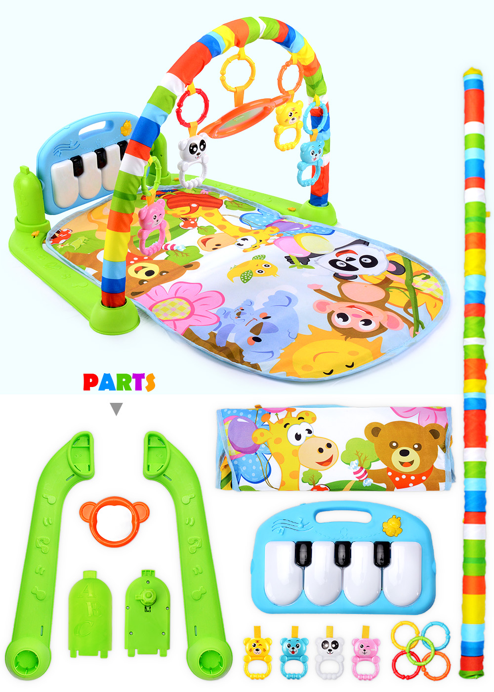 H9233253c708442d1b513b35606550213B 16 Styles Baby Music Rack Play Mat Kid Rug Puzzle Carpet Piano Keyboard Infant Playmat Early Education Gym Crawling Game Pad Toy