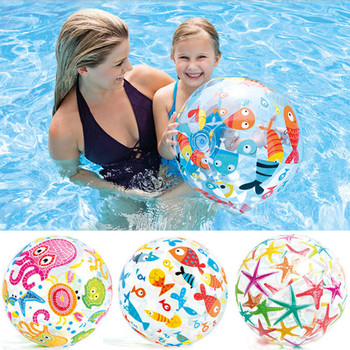 Children's Inflatable Water Ball Outdoor Swimming Toys PVC Inflatable Beach Ball Elastic Float Ball Summer Game Children's Toy 2 0m dia inflatable water ball water walking ball human hamster ball giant inflatable ball water zorb ball