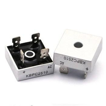 KBPC2510 25A 1000V diodowy mostek prostowniczy tanie i dobre opinie AEYWVRL Falownik konwerter Bezpo¶rednio hole