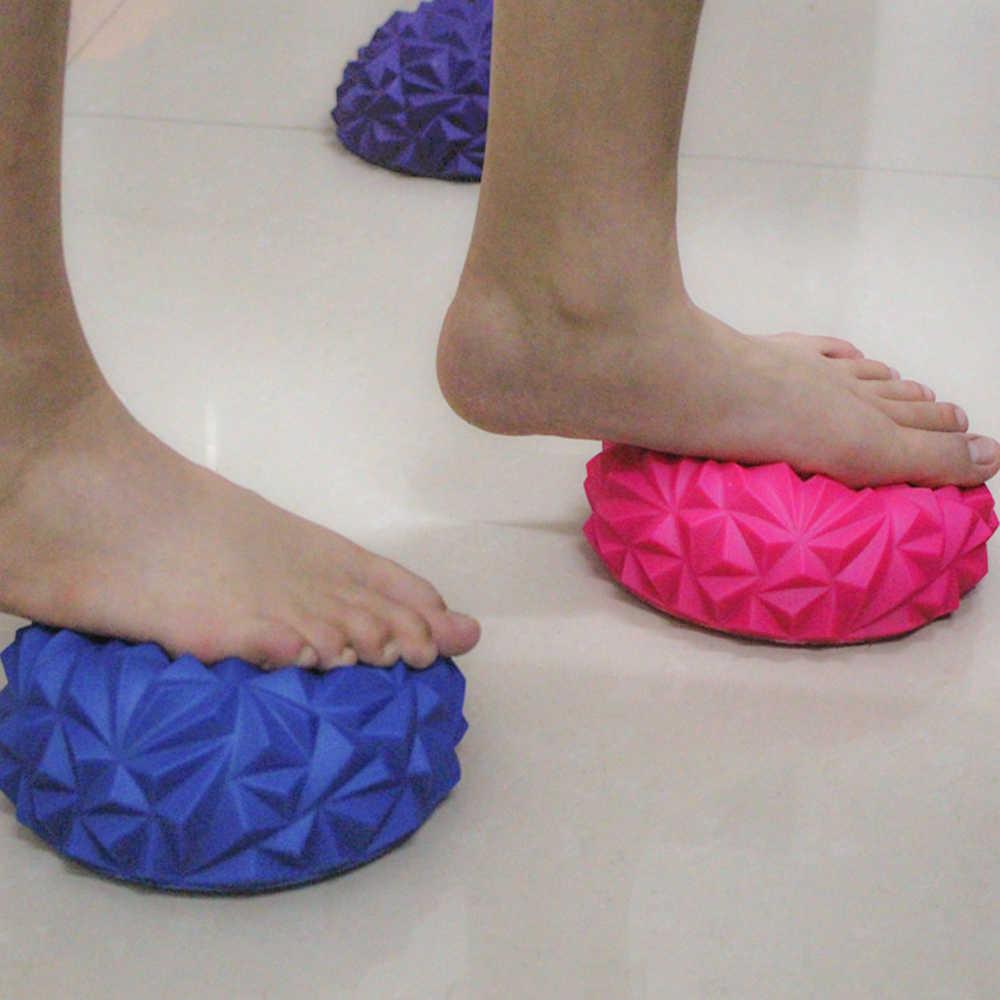 Sfit Yoga Mezza Sfera di Forma Fisica Apparecchio Esercizio Balance Sfera di Massaggio del Punto di Stepping Stones PVC Equilibrio Baccelli PALESTRA Pilat