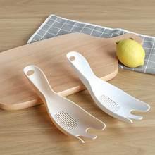 Многофункциональная сито-шайба пластиковая просеиватель ложка для риса Soybeans моющий инструмент сливная ложка-ситечко с отверстием кухонный инструмент