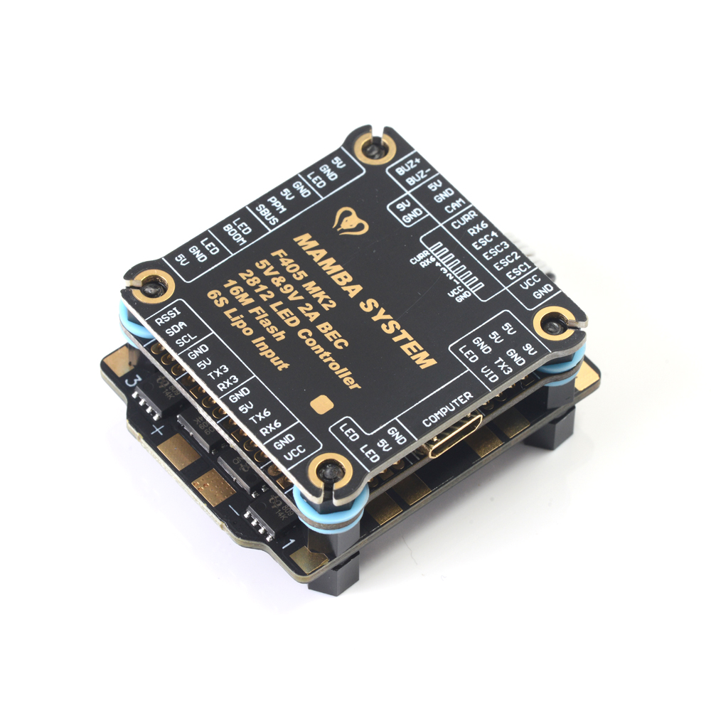 Image 2 - Diatone MAMBA F405 MK2 Betaflight Flight Controller F40 40A 3 6S DSHOT600 FPV Racing Drone Racer Brushless ESC-in Parts & Accessories from Toys & Hobbies