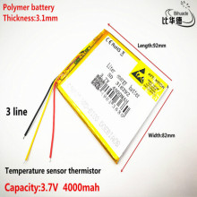 3 lines 318292 Battery 7 For Prestigio Grace 3118 3G PMT3118 Tablet Battery 3.7V 4000mah Polymer li-ion+Tracking kefo universal cover for prestigio multipad grace 3118 pmt3118 3318 pmt3318 3g 8 inch tablet zipper nylon tablet covers case