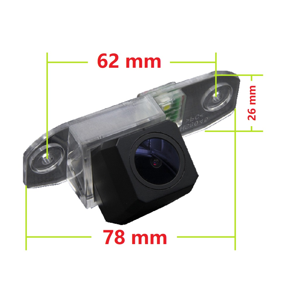 Fabryka HD sprzedaży kamera tylna dla Volvo S80/ SI40/XC60 /XC90/ S40 /C70 /S80L /S40L /S80
