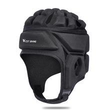 Профессиональный с подвеской в виде шлема для регби Спорт на открытом воздухе головной убор Футбол Бейсбол шлем вратаря Кепка головной убор протектор головной убор