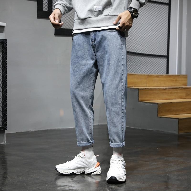 Fa5705 2019 New Autumn Winter Men Fashion Casual Denim Pants  Ripped Jeans For Men Jeans Mens