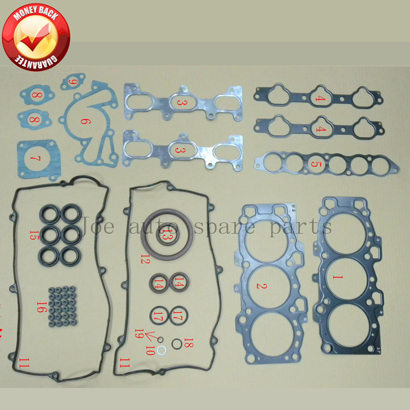 G6BA G6BAG G6BAY Engine complete Full gasket set kit for Hyundai Sonata/Trajet/Santa/Coupe / KIA Magentis 2.7L  50214200
