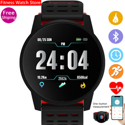 New KY108 Smart Watch IP67 Waterproof Heart Rate Monitor Blood Pressure Fitness Tracker Smartwatch GPS Sport Watch Android Ios