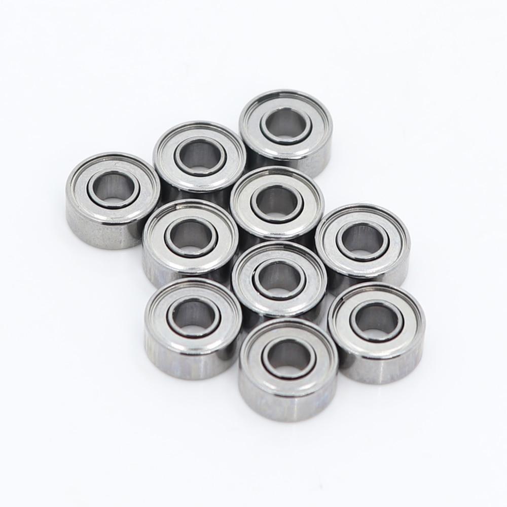 "1//8/""x5//16/""x9//64/"" inch Miniature Ball Bearings 10 PCS R2-5ZZ Bearing ABEC-5"