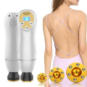 Image 1 - Электрический Женский массажер Gua Sha, банки для вакуумного соскабливания, женское тело, тонкая детоксикация