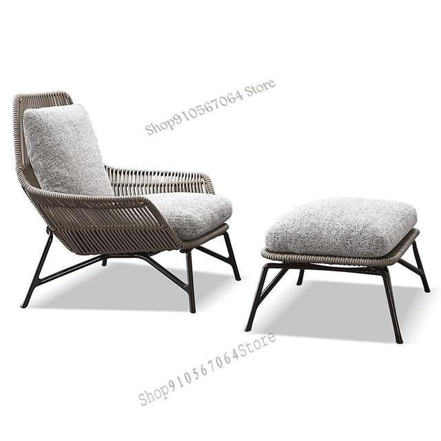 Outdoor Patio Leisure Rattan Chair 4