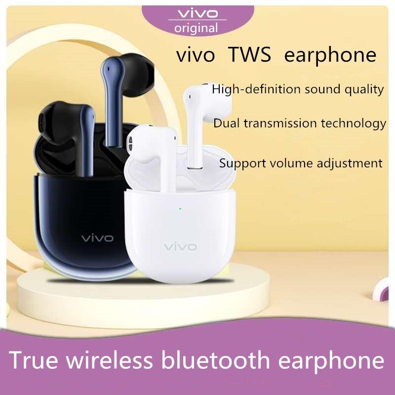 VIVO TWS Bluetooth QCC 5126 Adaptateur Sans Fil Vrai Casque Sans Fil 14.2mm Unités Dynamiques IP54 Avec Micro,Send Silicone Prot