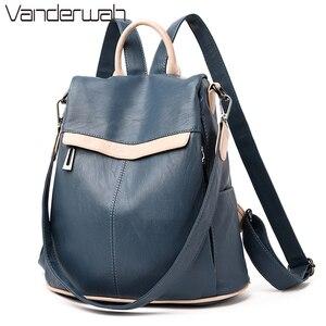 Image 1 - Bayanlar okul sırt çantası kese Dos Femme kadın omuz çantaları kadınlar için geniş tuval kayışı genç kızlar için sırt çantası Mochilas