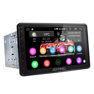 Image 2 - JOYING autoradio 2 din Android 8.1 unità di testa 8 pollici IPS schermo di tocco di HD 2GB di RAM supporto dello sterzo controllo della rotella/specchio link/DSP