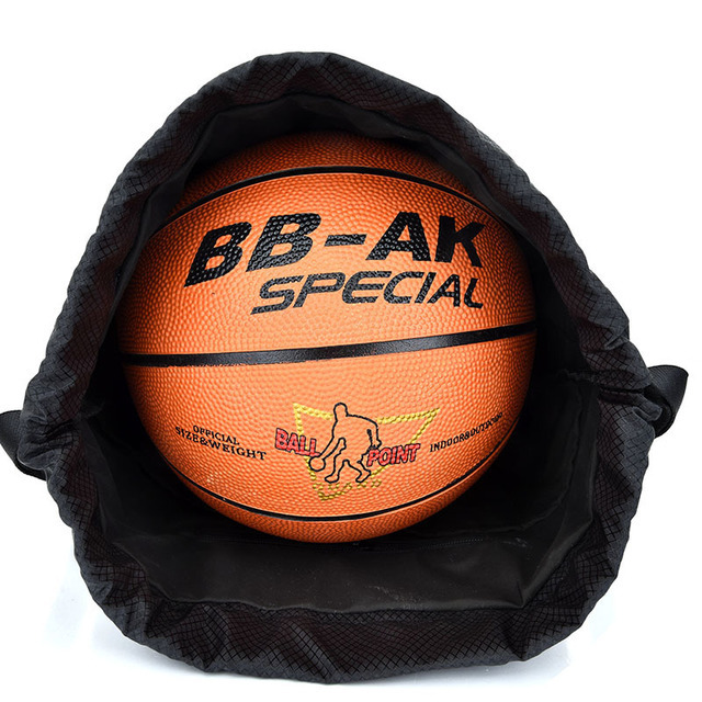 Outdoor Sports Gym Bags Basketball Backpack For Sports Bags Women Fitness Yoga Bag Drawstring Gym Bag 5
