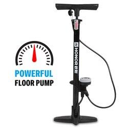 Ножной насос для велосипеда, напольный насос для шин с манометром, велосипедный воздушный насос для велосипеда, аксессуары для шин