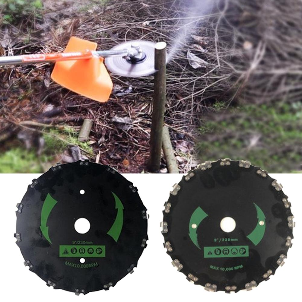 Brush Cutter Chainsaw Tooth Trimming Machine For Cutting Small Trees Heavy Brush Thick Grass