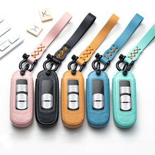 Leather Car Remote Key Case Cover Protection For Mazda 2 3 6 Axela Atenza CX-5 CX5 CX-7 CX-9 2014 2015 2016 up Key Ring Case qcontrol 3 buttons smart key suit for mazda cx 3 cx 5 axela atenza model ske13e 01 car remote control