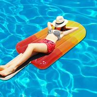 Popsicle Floating Row Inflatable Pool Float Lounge Popsicle Floating Row Summer Beach Water Party Toy For Adult Kids 1