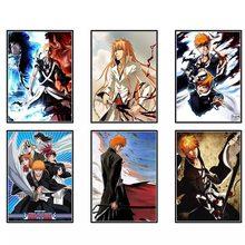 Lienzo y póster de película de anime japonés