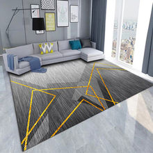 Nordic antidérapant salon tapis intérieur impression décoration petit tapis chambre table de chevet rebord de fenêtre canapé tap