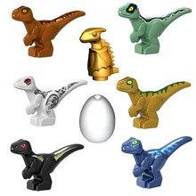 2020 jurassique monde parc dinosaures Indoraptor Pterosauria oeuf bébé Dino bloc de construction briques ville jouets pour enfants