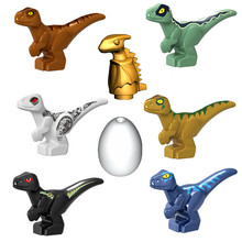 2020 świat jurajski Park dinozaury Indoraptor pterozaura jajko dziecko Dino klocki budowlane zabawki miejskie dla dzieci