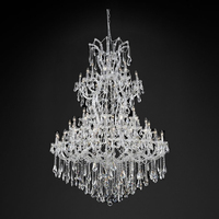 Maria Theresa Chandelier & Clear Crystal Chandelier Large Big Crystal Chandelier Lighting Modern Hotel Chandeliers