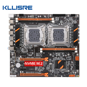 Image 1 - Kllisre X79 Dual Cpu Moederbord Lga 2011 E ATX Main Board USB3.0 SATA3 Pci E 3.0 16X Pci E Nvme M.2 Ssd Ondersteuning xeon Processor