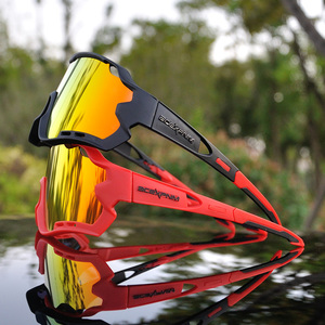 Image 3 - ACEXPNM marka yeni polarize bisiklet gözlük dağ bisikleti bisiklet gözlük açık spor bisiklet güneş gözlüğü UV400 gözlük 4 Lens
