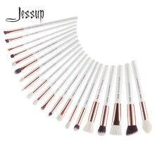 Jessup Trang Điểm 20 Chiếc Trắng/Hoa Hồng Vàng Brochas Maquillaje Dropshipping Nền Cao Cấp Phối Cọ T225