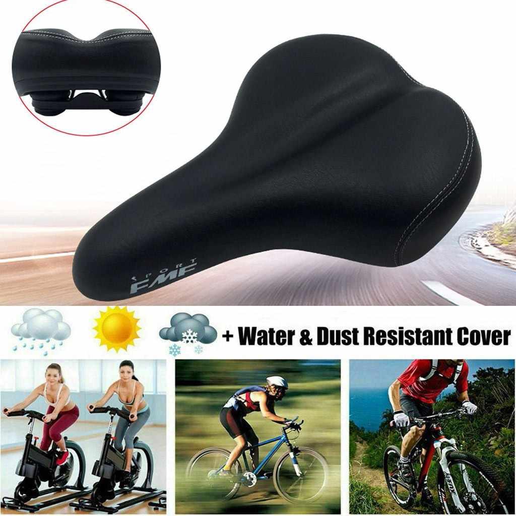 MTB Gel Comfort Saddle Bike Road Mountain Bicycle Seat Soft Cushion Pad Tool Mat