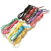 1 M Korean Velvet Leather Cord Flat Faux Sued Decorative Handicrafts Accessories 3mm DIY Rope Thread Jewelry Making(China)