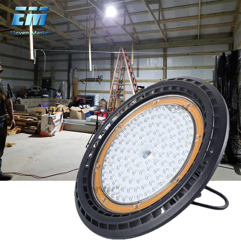 50W 100W 150W 200W Ufo Led High Bay Lighting 6000K Industrial Lighting Outdoor Indoor Lighting Workshop Lights ZDD0019